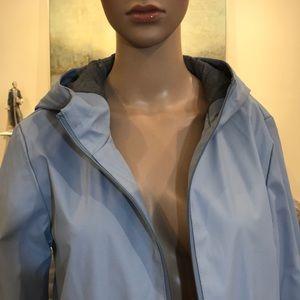 Zara Jackets & Coats - Zara light blue raincoat